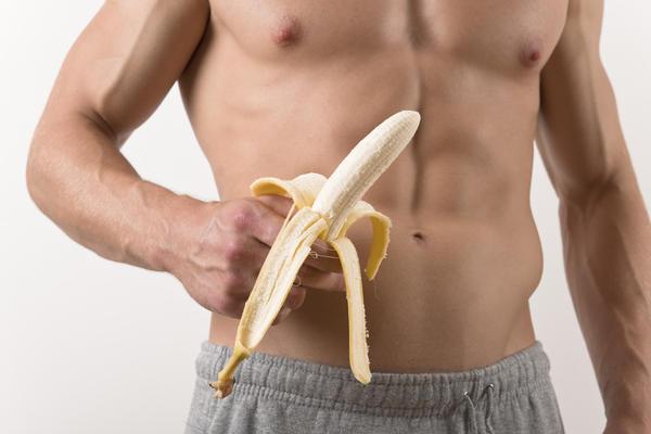 Бананы перед тренировкой