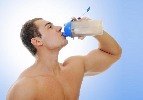 как пить гейнер для набора массы