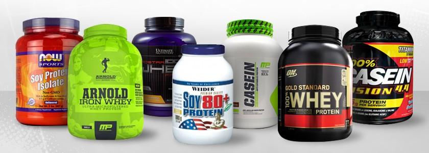 Виды протеина.