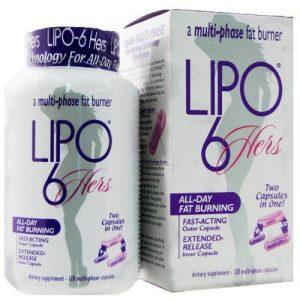 Лучшие жиросжигатели для женщин - Липо-6